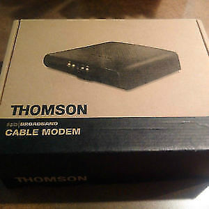 Thomson cable modem dcm476 Kitchener / Waterloo Kitchener Area image 1