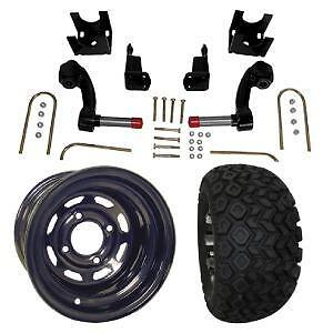 "GOLF CART 10 "" Tire And Wheel with 6"" Jake's lift kit Package FREE SHIPPING!"