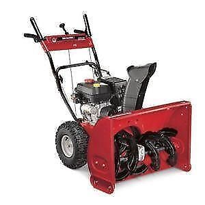 "MTD Yard Machines Consumer Two-Stage (24"") 5-HP Snow Blower"