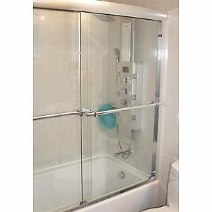 portes de douche pour bain coulissante slider doors shower bath