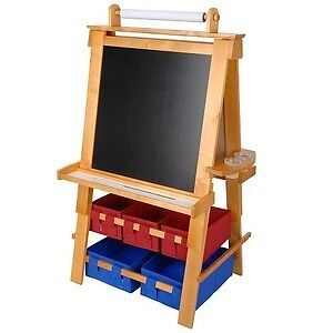 Solid Wood Floor Easel from Toys R Us - ages 4 to 12
