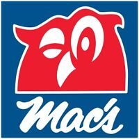 A Mac's Convenience Store is Hiring PT!
