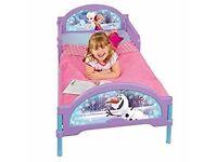 Girls Frozen toddler bed & mattress