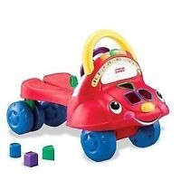 Fisher Price - Laugh & Learn Stride-to-Ride Learning Walker