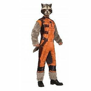 Rocket Racoon Official Guardisn of the Galaxy Adult Costume New