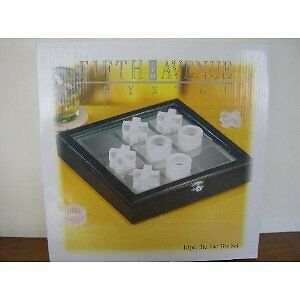 FIFTH AVENUE DE CRISTAL 10 PIECE SET TIC TAC TOE
