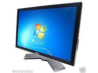 "19"" Dell UltraSharp DELL TFT LCD COMPUTER MONITOR FLAT SCREEN GRADED"