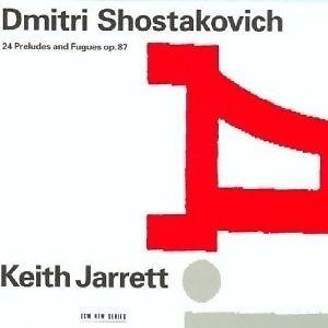 KEITH JARRETT - 24 PRÄLUDIEN UND FUGEN OP.87 2 CD NEU++++++++++++++
