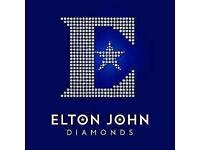 Elton John diamonds NEW cd album
