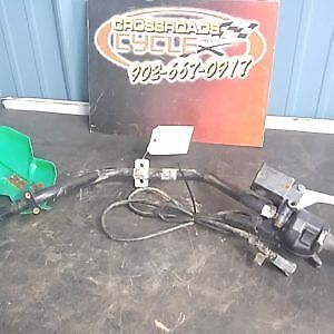 2005 Arctic Cat 500  4X4 FIS Handlebar With Throttle  Assembly