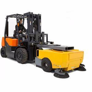 Forklift Sweeper Extreme Part No: NS-FS-E Melbourne CBD Melbourne City Preview