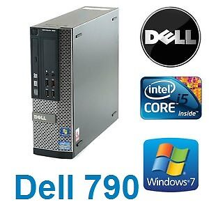 Ordinateur Dell 790 Quad Core i5-2500 , 3.30GHz,4gb,250gb,win 7