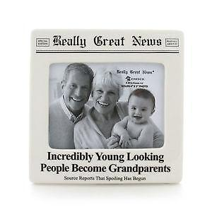 Grandparents Picture Frame Ebay