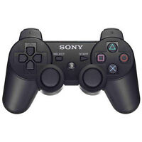 BLACK PS3 WIRELESS CONTROLLER