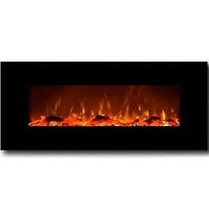 "50"" Electric Wall Mount Fireplace"