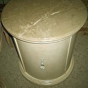 Drum end table Cornwall Ontario image 3