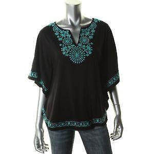 Black Embroidered Tunics