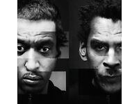 2 spare tickets for the home coming of Massive attack on Bristol downs 3rd Sept