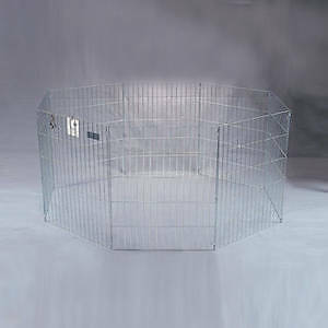 DARK GREEN RABBIT PLAY PEN OR FOR SMALL ANIMALS