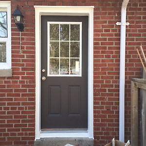 Aluminum capping to your windows and door frames London Ontario image 2