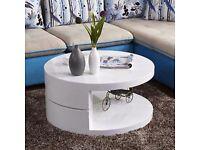 High Gloss 360° Coffee Table