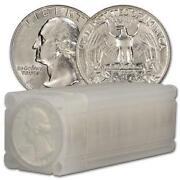 Silver Quarter Roll