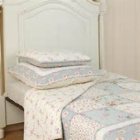 Clayre & Eef quilt plaid bedspread
