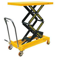 New Double Scissors Lift Table Wholesale Price $399.99