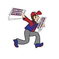 Top up your Income!!! ONCE PER WEEK FLYER DELIVERY!!!