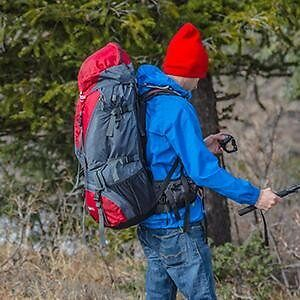 Fox 5200 80L Camping Backpack