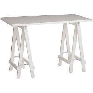 Beautiful Sawhorse Desk from Pier One Imports