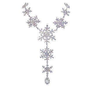 c81ae91c8f7ef Snowflake Necklace | eBay