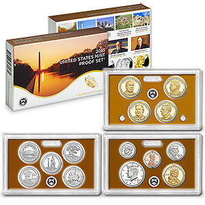 2013 United States Proof Set - 14 Coins -