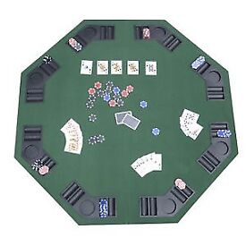 Fold up poker table