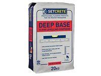 Setcrete Deep Base Floor Levelling Compound 20kg x 2
