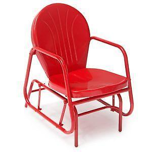 Metal Glider Chairs