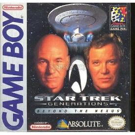 Star Trek Generations Beyond The Nexus - Nintendo GameBoy