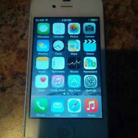 White iPhone 4s Excellent Condition with Telus