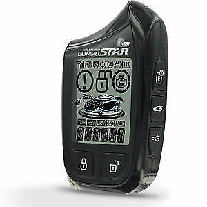 *NEW* COMPUSTAR 901SS 2 WAY PAGER REMOTE CAR STARTER INSTALLED