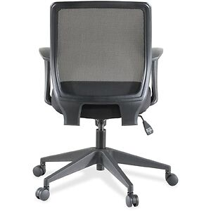 Exec. Mid-back Work Chair -Upholstery Black Seat -Bac