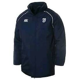 Canterbury Cardiff Blues Navy quilted Jacket.XXL