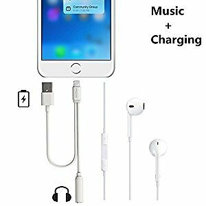 iPhone 7 & 7 Plus Audio adapter USB Converter Cable
