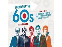 SOUNDS OF THE 60S SHOW AT REGENT CENTRE CHRISTCHURCH FRIDAY 20TH JULY