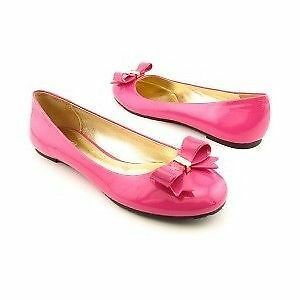 AUTHENTIC COACH FUCHSIA SKYLA BALLET FLATS