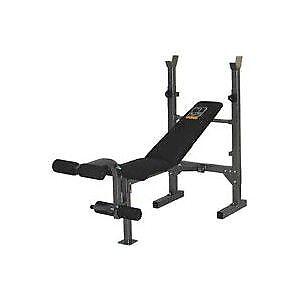 Banc d'exercices et de musculation