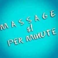 $1/Minute Morning MASSAGE