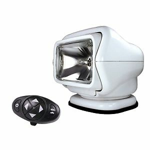 Golight Stryker 3100 Searchlight 12V w/Wireless Dash Remote - Wh