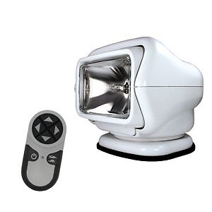 Golight Stryker 3000 Searchlight 12V w/Wireless Handheld Remote - White