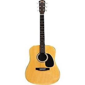 Hardly played Squier by Fender acoustic. Great condition.