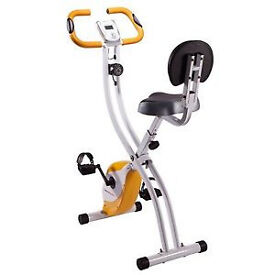 Used but in Excellent condition - Ultrasport Foldable Exercise Bike With Pulse Sensor Grips